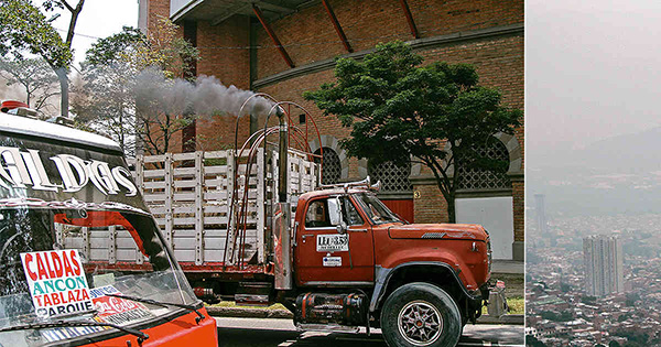Medellín sufre un problema crónico de contaminación