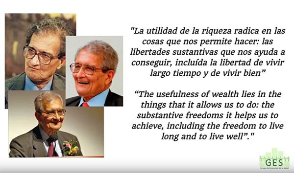 20 años del discurso de Amartya Sen «La Salud en el Desarrollo»