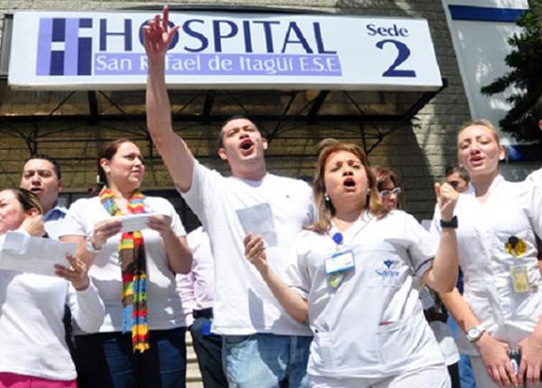 Se mantiene semiparálisis en hospital San Rafael de Itagüí