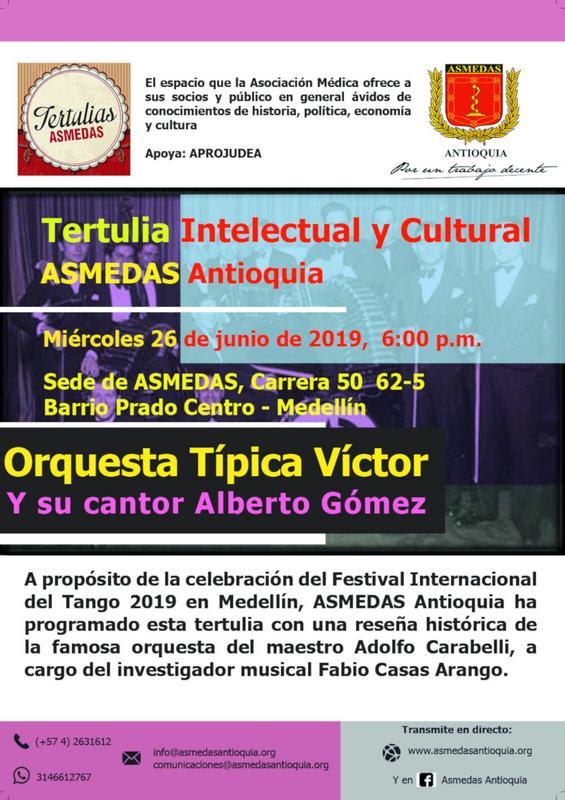 EN VIVO! Orquesta Típca Víctor y su cantor Alberto Gómez