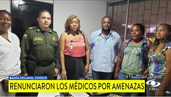 Doctoras de una IPS en Bahía Solano presentaron su renuncia irrevocable por amenazas en su contra