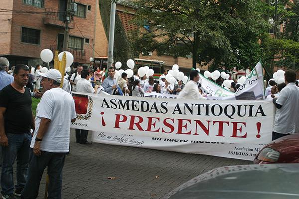 ASMEDAS Antioquia invita a participar en el Paro Nacional del 21 de noviembre